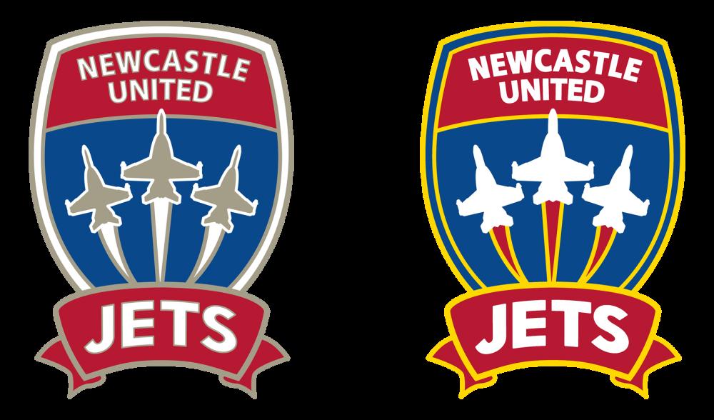 Newcastle Jets Logo Recolour