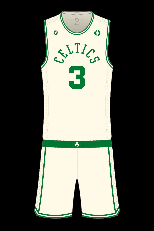 Boston Celtics Cream Alternate