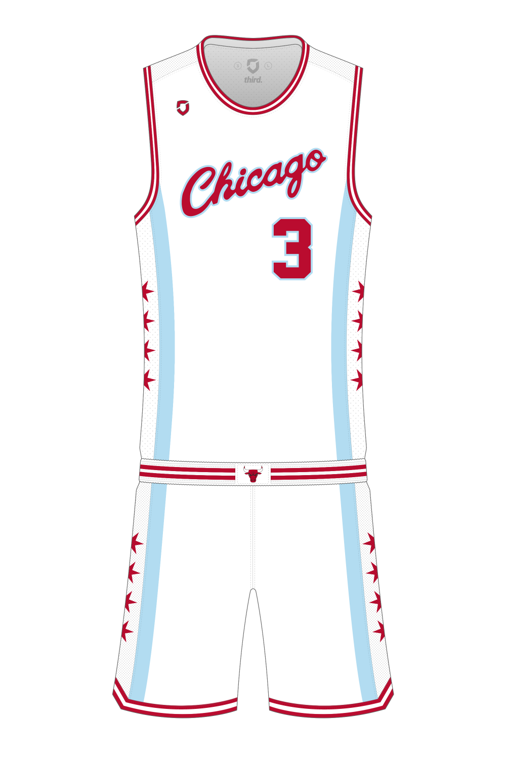 Chicago Bulls Pride Alternate