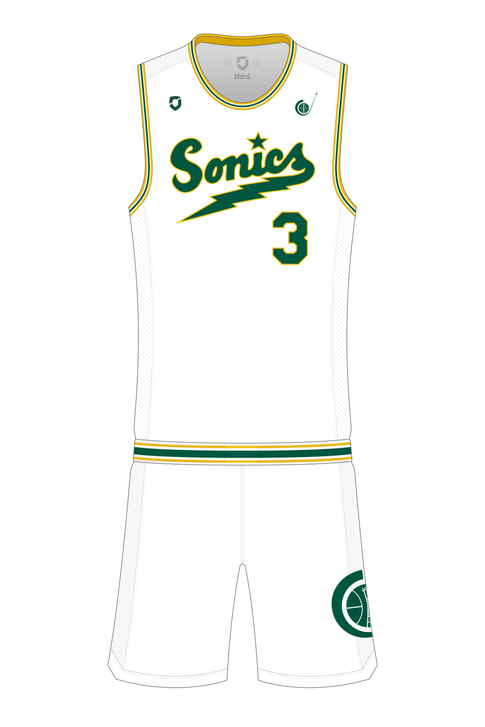 Seattle Supersonics Throwback