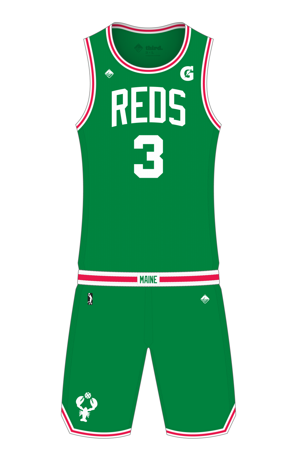 Maine Red Claws Alternate