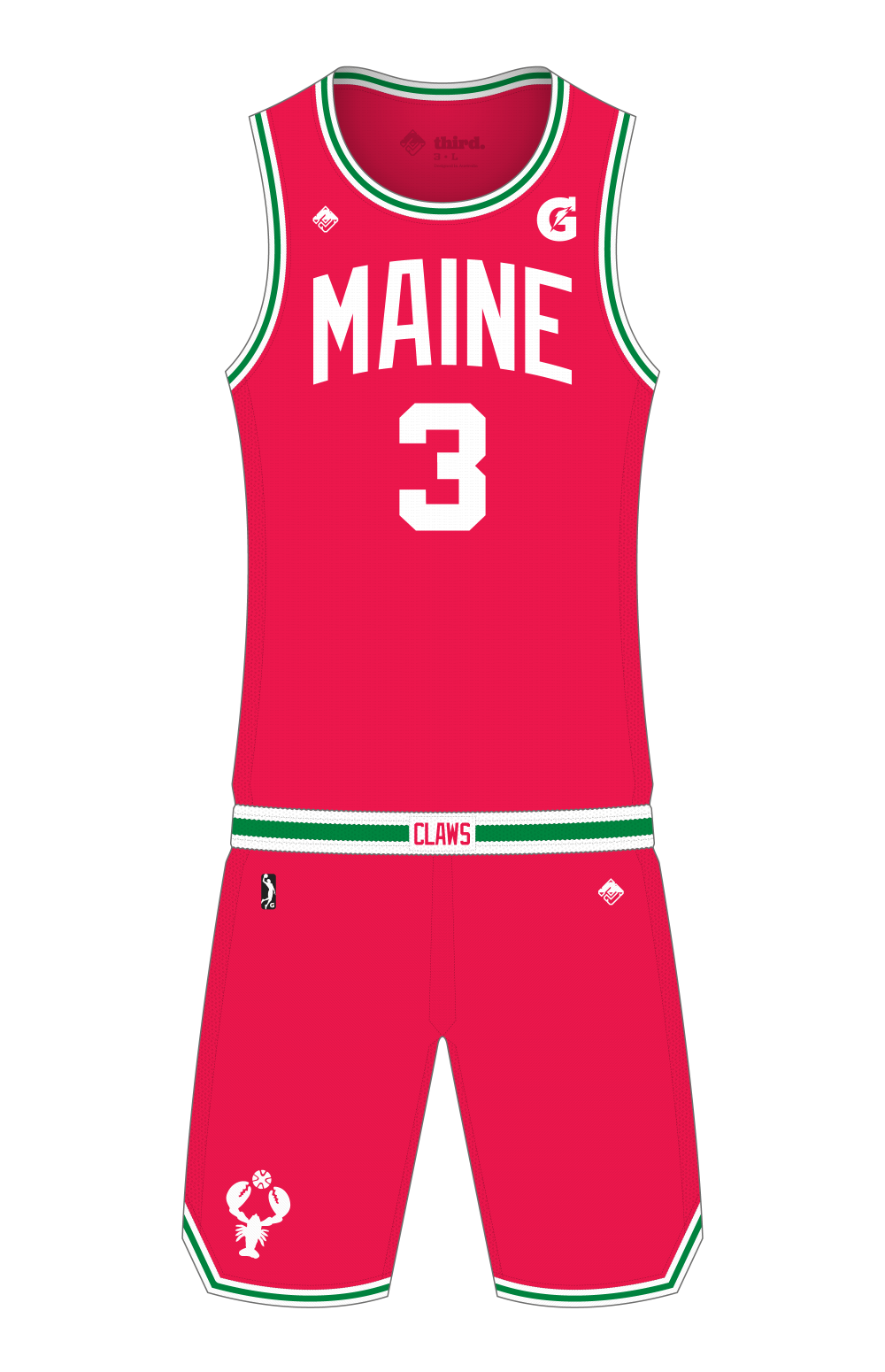 Maine Red Claws Away