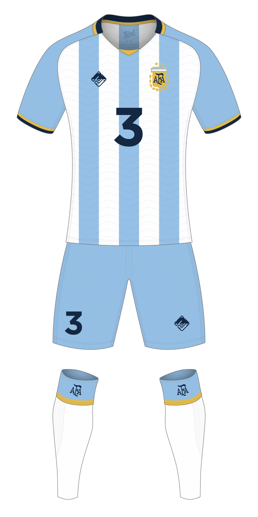 Argentina World Cup 2018 concept