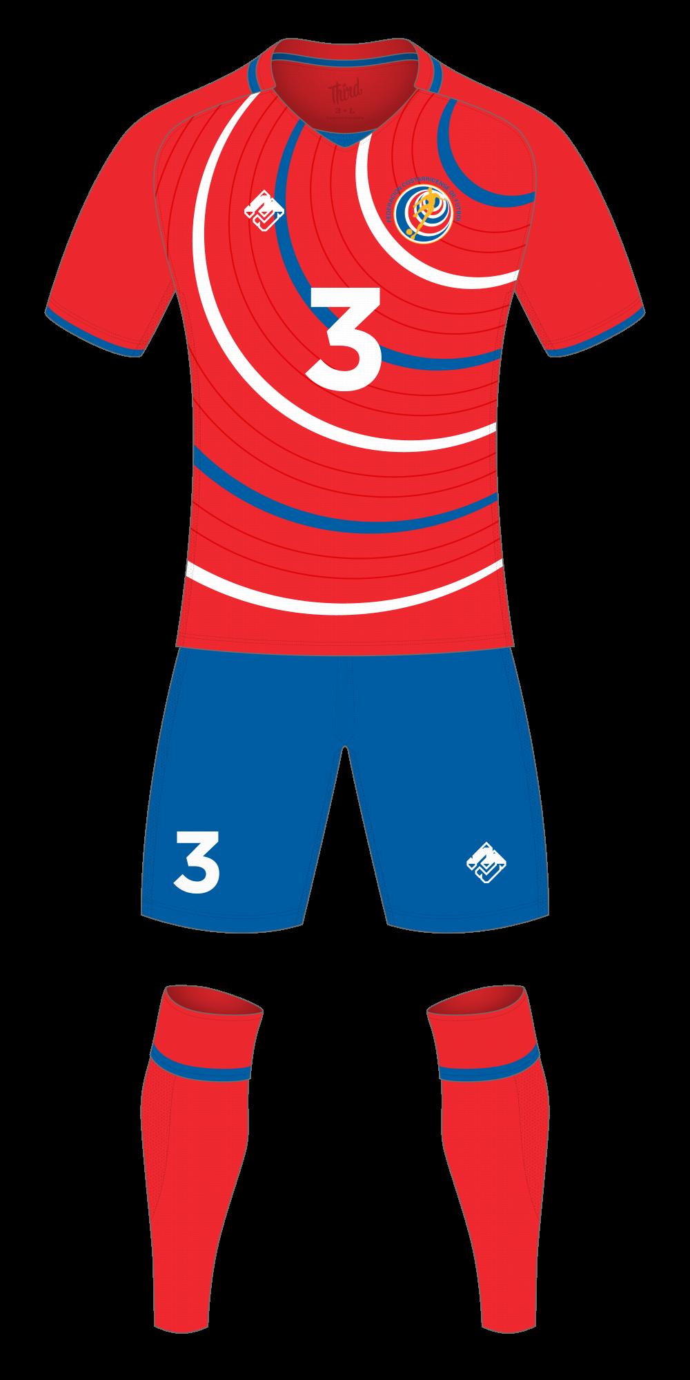 Costa Rica World Cup 2018 concept
