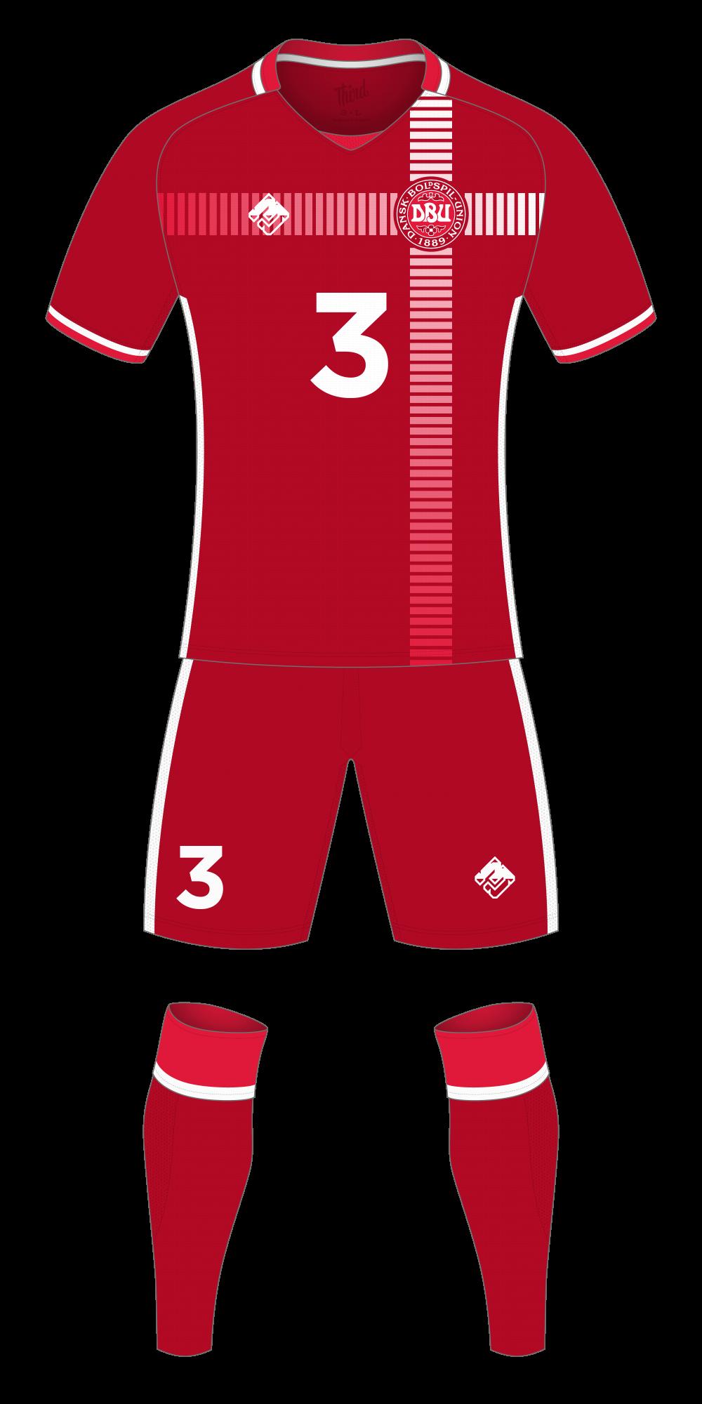 Denmark World Cup 2018 concept
