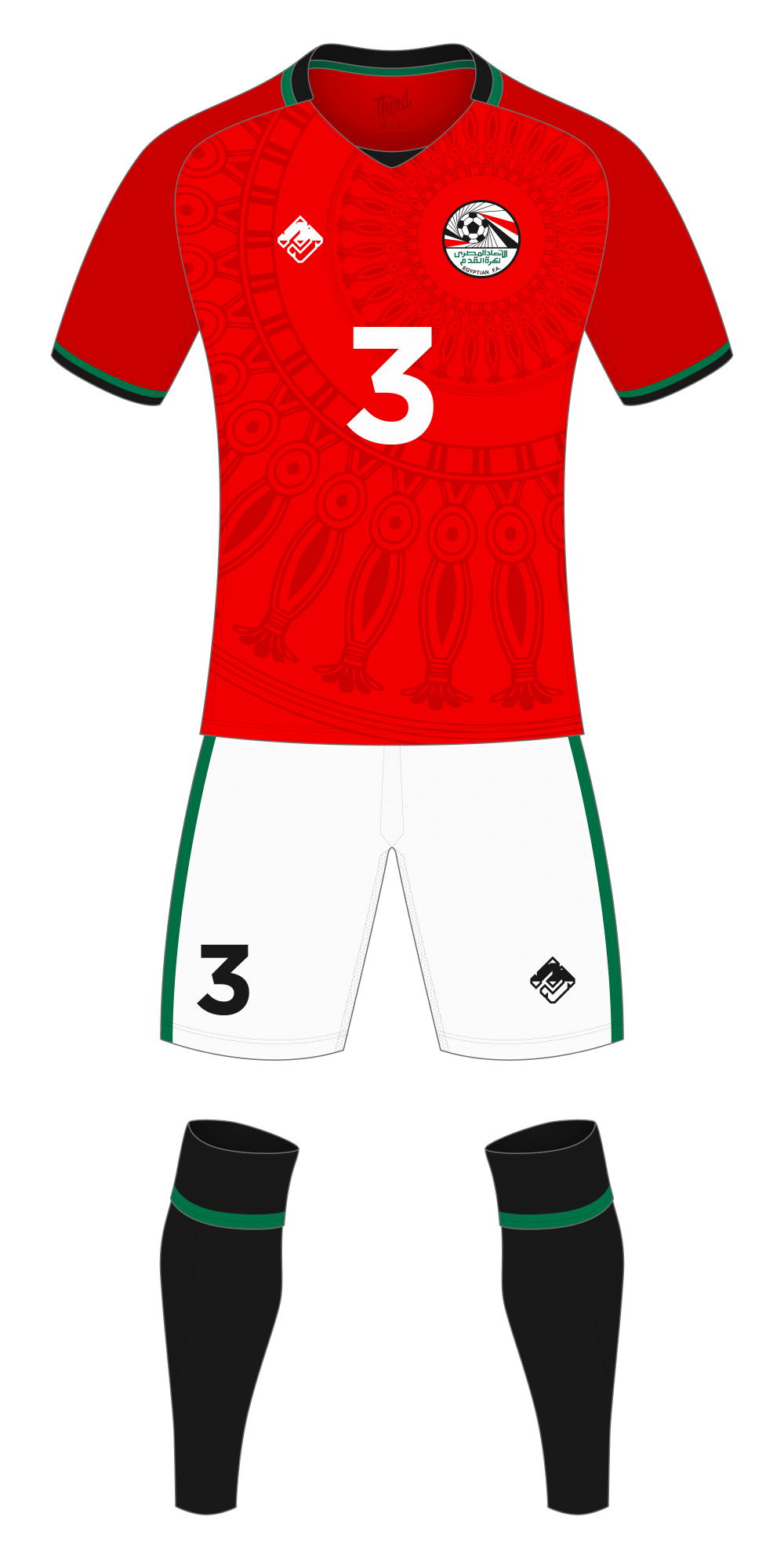 Egypt World Cup 2018 concept