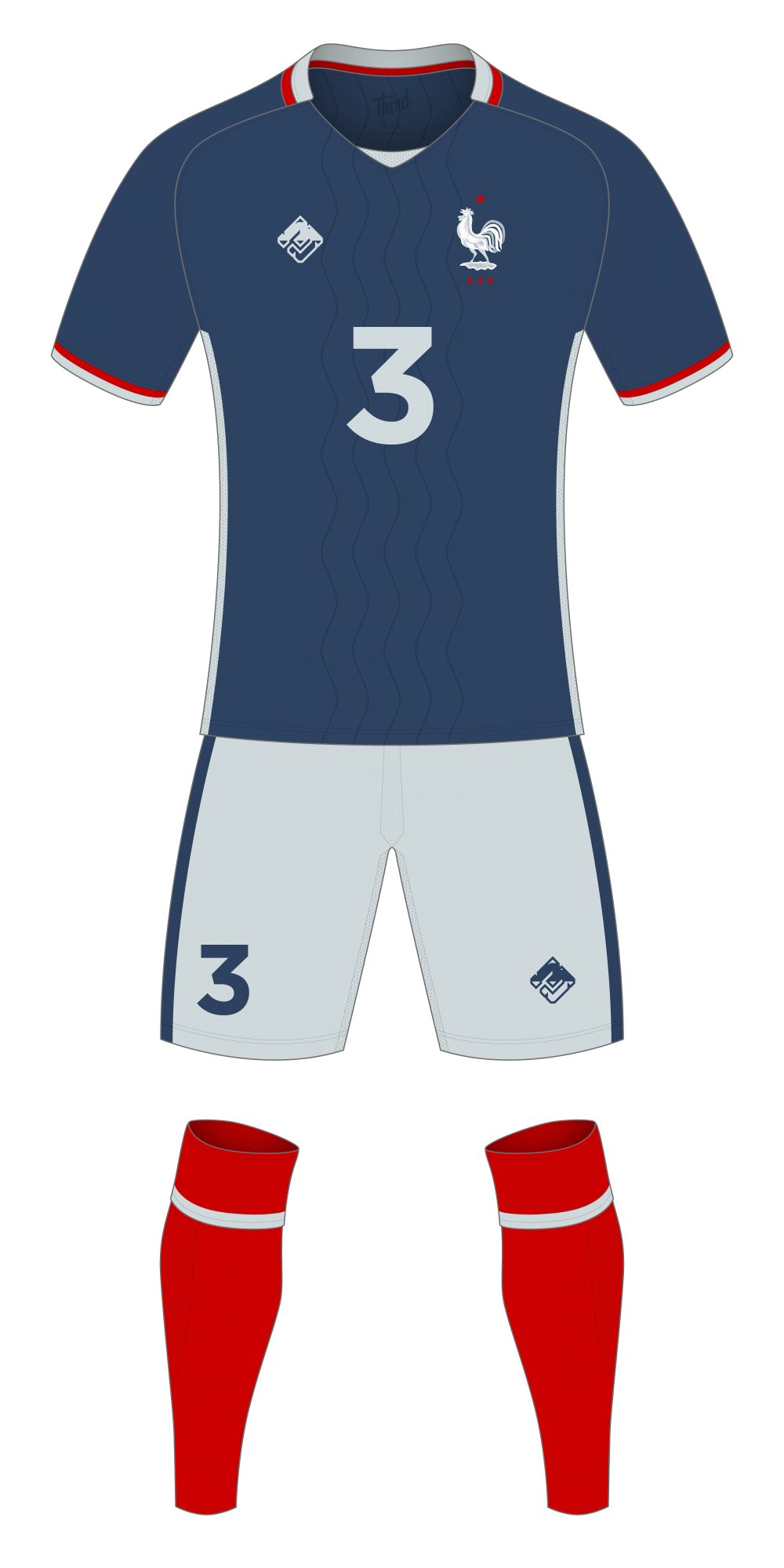 France World Cup 2018 concept