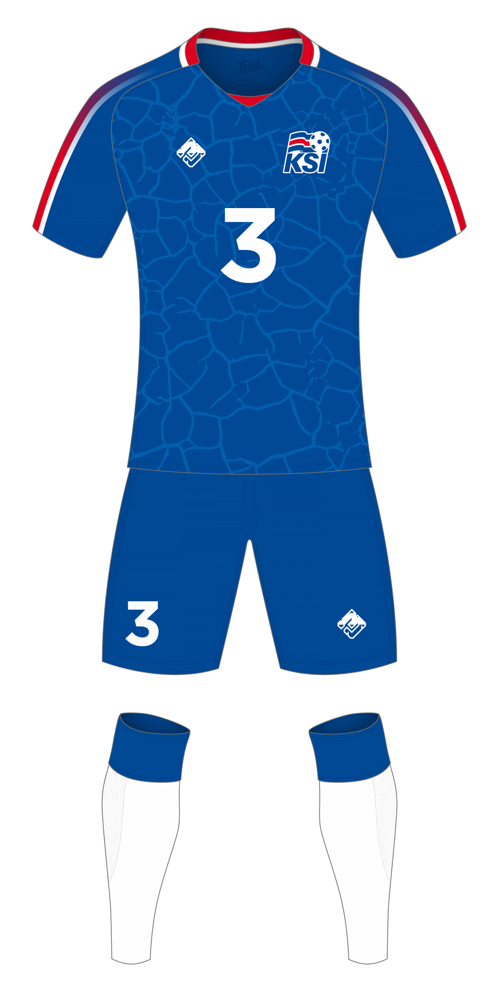 Iceland World Cup 2018 concept
