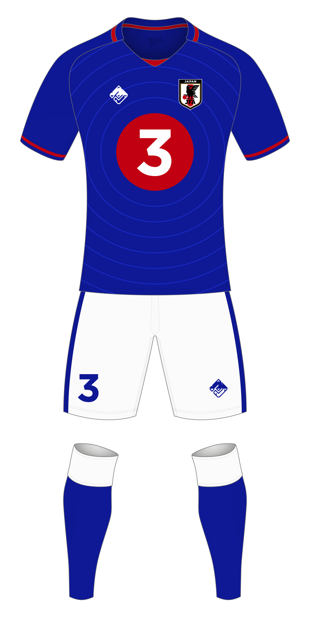 Japan World Cup 2018 concept