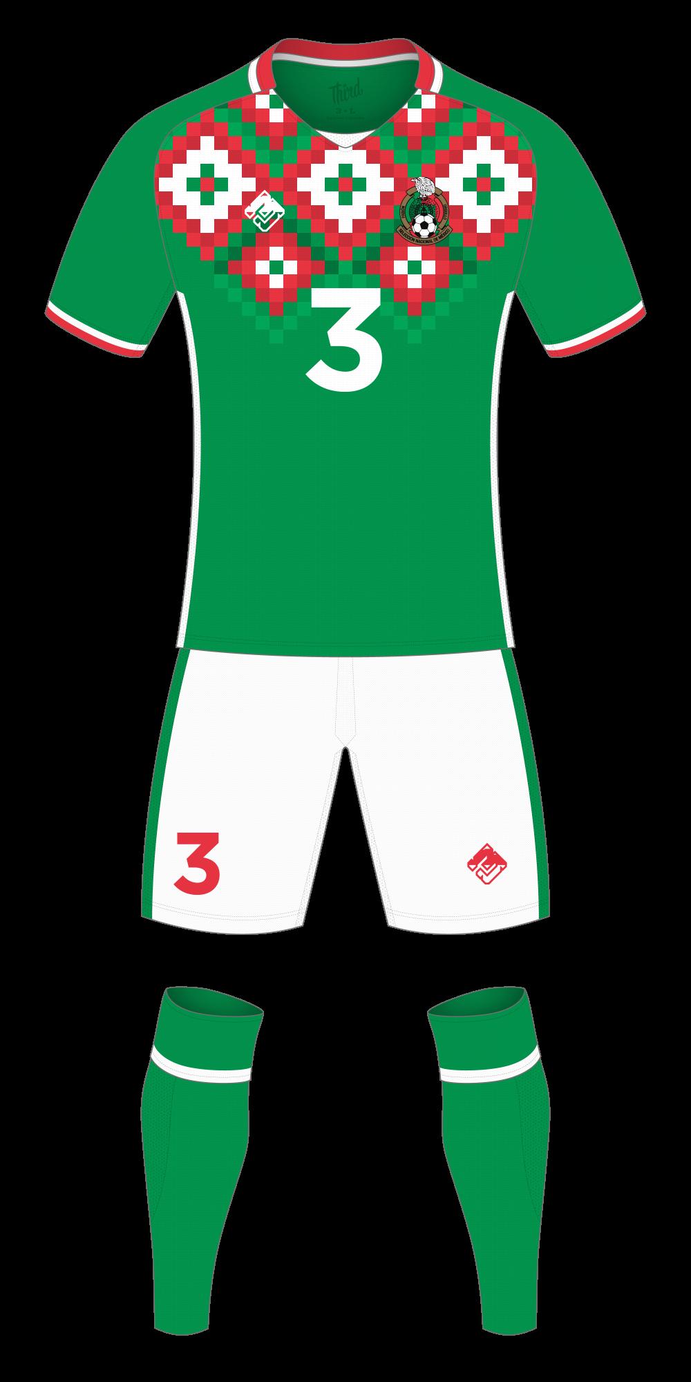 Mexico World Cup 2018 concept