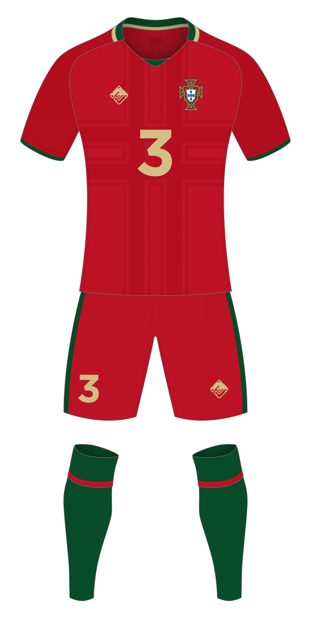 Portugal World Cup 2018 concept