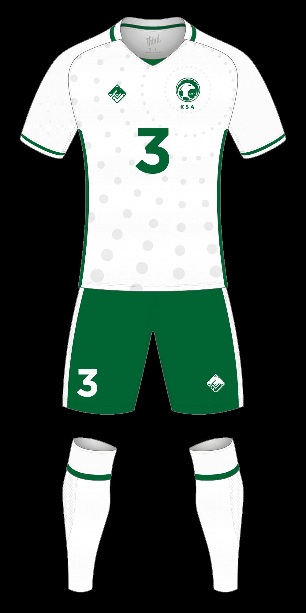 Saudi Arabia World Cup 2018 concept