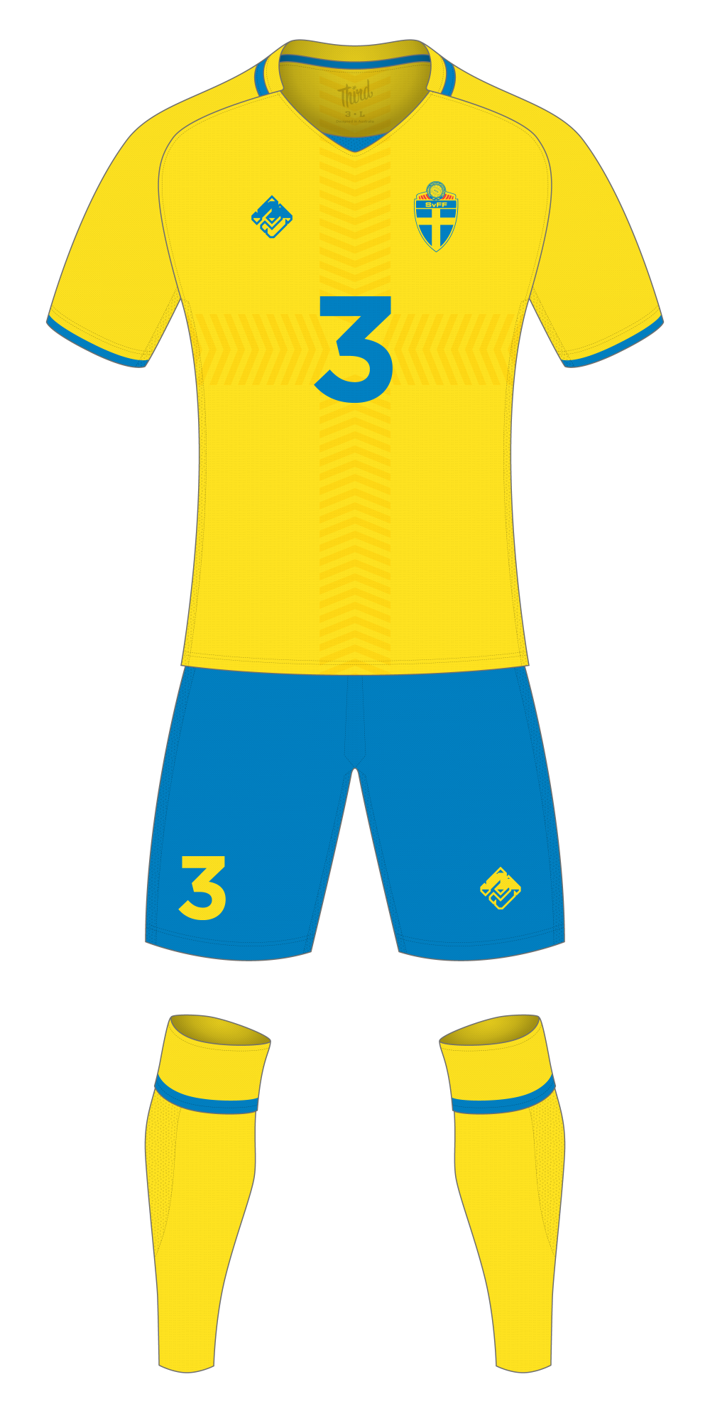 Sweden World Cup 2018 concept