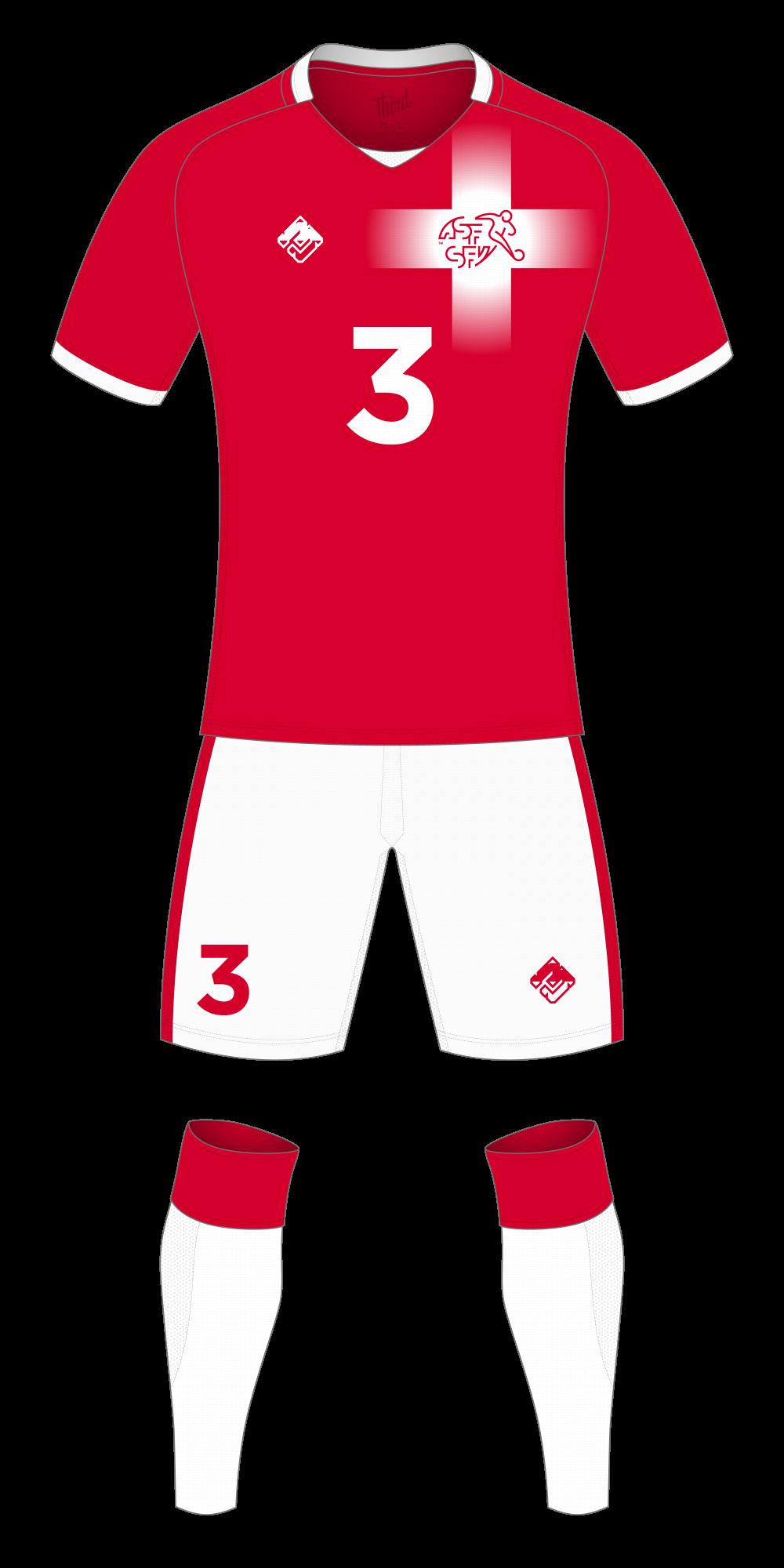 Switzerland World Cup 2018 concept