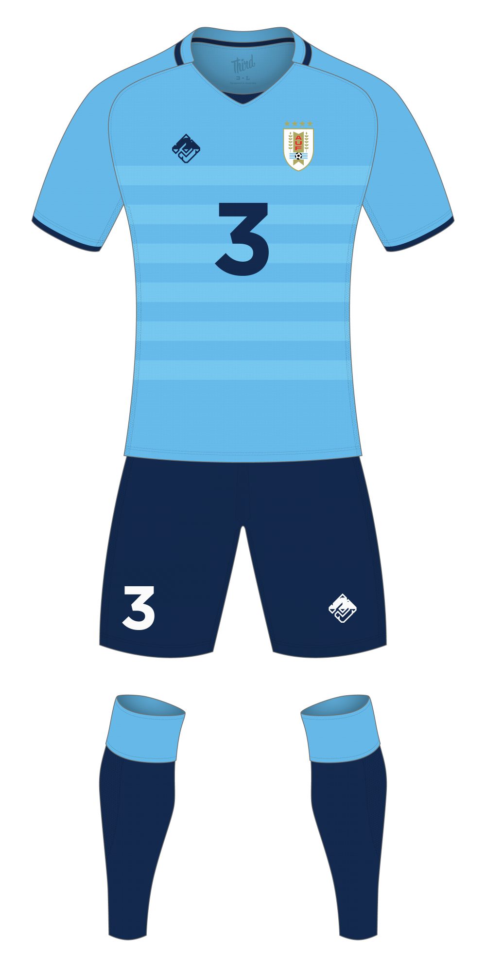 Uruguay World Cup 2018 concept
